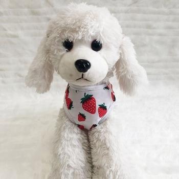 Lato truskawki drukowane dla psa koszulka dla szczeniąt sukienka piękne pary odzież dla zwierząt domowych kotów psy lato odzież ubrania tanie i dobre opinie Poliester Wiosna lato Dog printed vest T-shirt Polyester White Dogs S M L XL XXL Strawberry