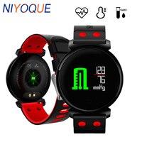 NIYOQUE K2 Smart Bracelet Blood Pressure Heart Rate Monitor Blood oxygen detection IP68 waterproof Fitness Tracker Smart Band