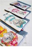 бесплатная доставка! sympathy Rome кот в постельное белье хлопок ткань-140 см х 40 см n1202