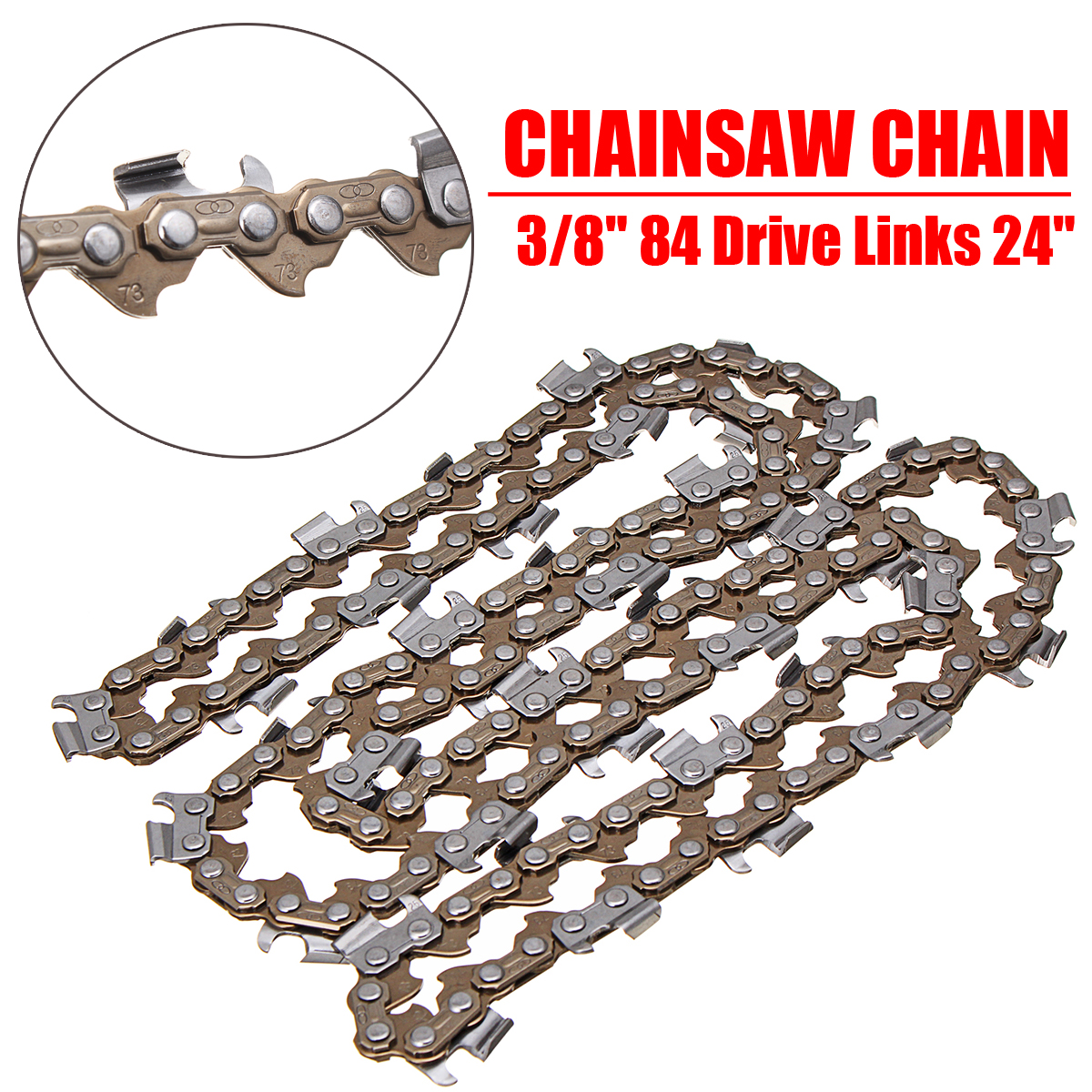 "050 BRAND NEW 12/"" CHAINSAW CHAIN FITS STIHL MS020 3//8 1.3MM"