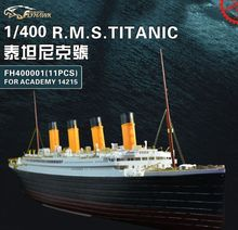 1/400 ratio, 11 pieces of etching, including resin parts, metal pieces Titanic Cruise  Retrofit parts   Assembly model
