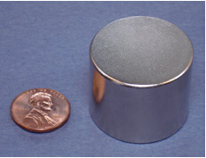 NdFeB Disc Magnet  1 1/4 dia.x1  thick Neodymium Permanent Magnets Grade N42 NiCuNi Plated Axially Magnetized ems SHIPPED 1 pack dia 4x3 mm jewery magnet ndfeb disc magnet neodymium permanent magnets grade n35 nicuni plated axially magnetized