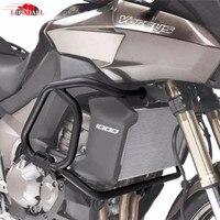 Hot Sale Black Bumper Crash Bar Engine Guard Frame Protector For 2012 2014 Kawasaki Versys 1000
