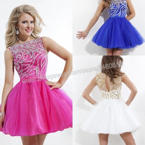 Brillante brillante tulle multi color blanco rosa azul corto tutú de ...