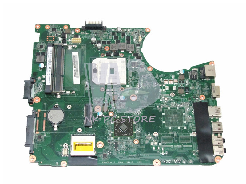 A000081230 Main Board For Toshiba Satellite L755D L750D Laptop Motherboard DDR3 Socket fs1 DA0BLFMB6E0 h000042190 main board for toshiba satellite c875d l875d laptop motherboard em1200 cpu ddr3