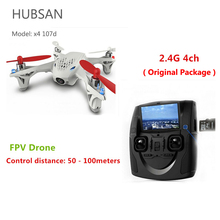 Hubsan x4 h107d 4ch 2.4g 4-axle kamery fpv drone rc toys helikopter quadrocoptera rtf aerial photography wideo f08562