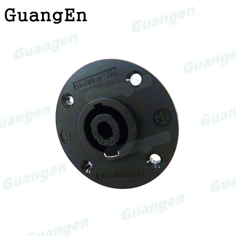 20pcs/lot high quality Compatible with Neutrik Speakon NL4MPR 4 pole gear female round pro Speakon connector FreeShipping
