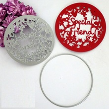 Special Friend Metal Cutting Dies Stencils for DIY Scrapbooking/photo album Decorative Embossing Paper Cards