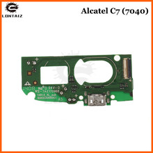 Mic Dock Charger Connector Board USB Charging Port Flex Cable For Alcatel One Touch POP C7 Dual 7040 7041 OT7040 OT7041 цена