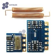 Mini RF 315MHz Transmitter Receiver Module Wireless Link Kit w/ Spring Antennas for Arduino