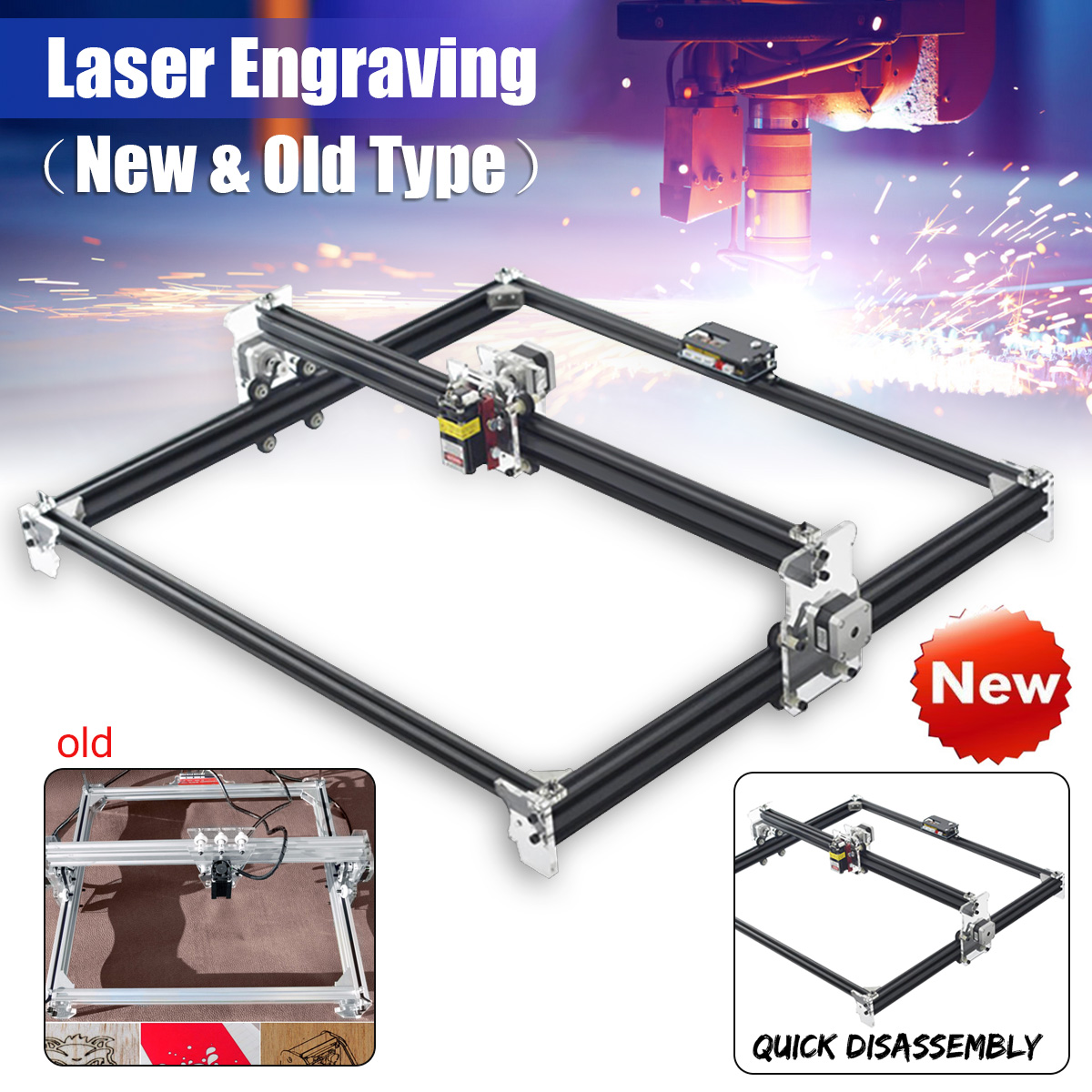 цена на 500MW/2500MW/5500MW/Without Laser DIY Laser Engraver Machine DVP6550 CNC Laser Machine Wood Router for Cutting and Engraving