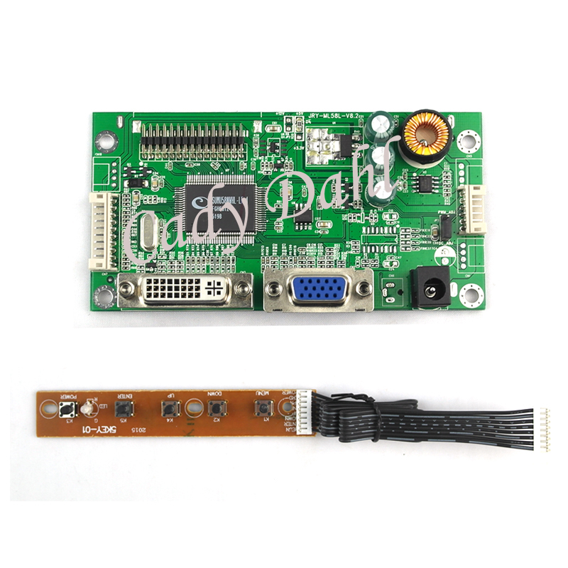 Demo Board Special Section Wholesale 10 Pcs Vga Dvi Lvds Monitor Driver Controller Board Diy Kit For Raspberry Pi 3 17-47 Ips Lcd Display Matrix Panel Cheapest Price From Our Site