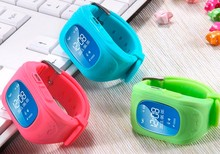 New Q50 Smart watch Baby Kid Gift Wristwatch GSM GPRS GPS Locator Tracker Anti-Lost Smartwatch Six Colors For IOS &Andriod Phone
