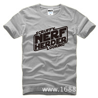 Hard Metal Punk Rock Nerf Herder Loose Mens Men T Shirt Tshirt Fashion 2015 New Short