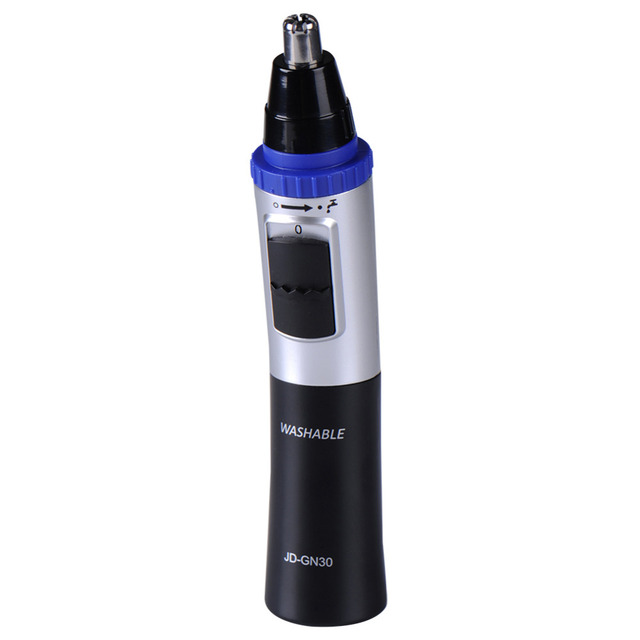 Washable Water Resistant Electric Nose Ear Hair Trimmer Shaver Hair Removal Clip Household Nose Ear Facial Trimmer With Brush
