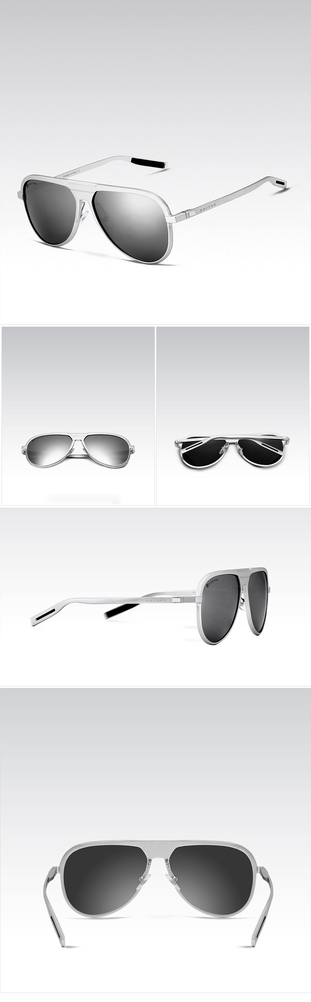 f31e521a11 GUZTAG Unisex Classic Brand Men Aluminum Sunglasses HD Polarized ...