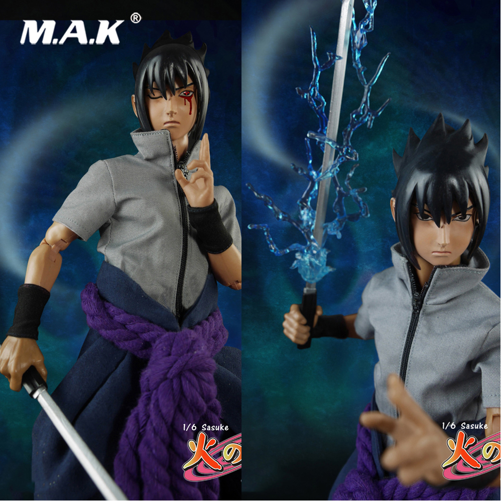 Collectible Full Set Action Figure TT008 1/6 Ninja Sasuke Model Toys with Double Heads Accessories for Fans Holiday Gift 1 6 collectible full set elder predator action figure avp ht mms325 hot toys doll model gift box set specification for fans gift