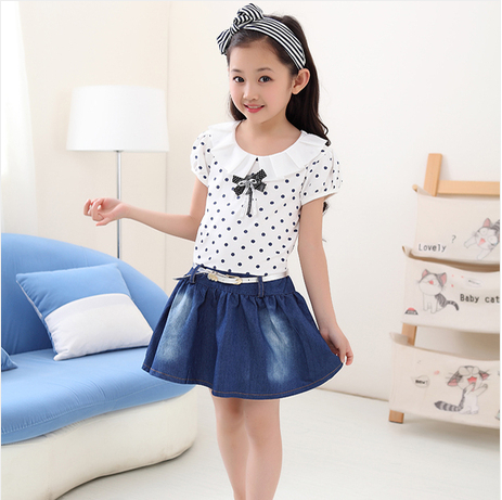 Aliexpress.com : Buy 4 Little Big girls short sleeved summer 2014 ...