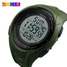 SKMEI Outdoor Sports Men Watches Countdown Chronograph Watch Alarm Waterproof Digital Wristwatches Clock Male Relogio Masculino цены онлайн