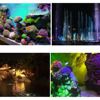 Waterproof LED Underwater Lights Lamp RGB Underwater Spot Light for Swimming Pool Fountains Pond Water Garden Aquarium Light promo