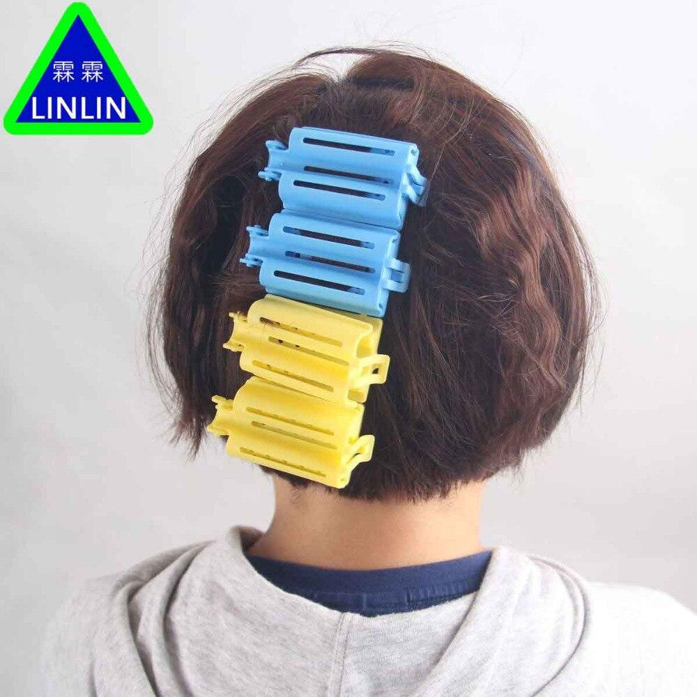 LINLIN 60 teile/beutel Haar Clip Welle Dauerwelle Stange Bars Mais Curler DIY Wurzeln Preming Flauschigen Friseur Styling Massage & Entspannung - 4