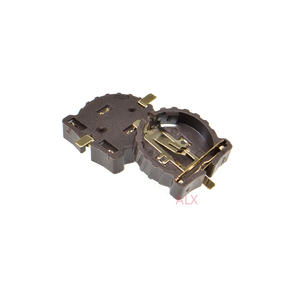 Image 2 - 10 STUKS SMD SMT CR1220 CR1225 BS 1220 2 3 V KNOOPCEL BATTERIJ SOCKET HOLDER CASE BOX