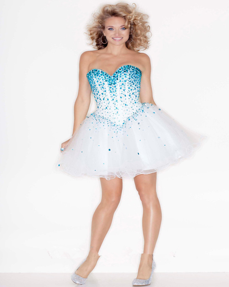 short white puffy prom dresses | Gommap Blog