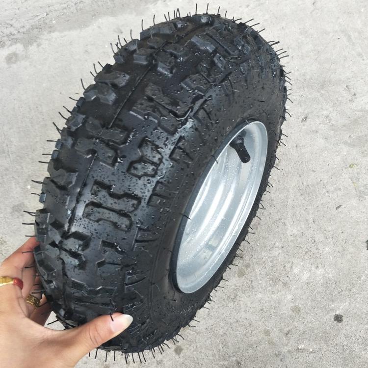 2 sets Go Kart TYRE Tire 13 5.00 6 Inch 6 Tire+Rim Set 160cc 200cc Size 13x5.00-6 ...