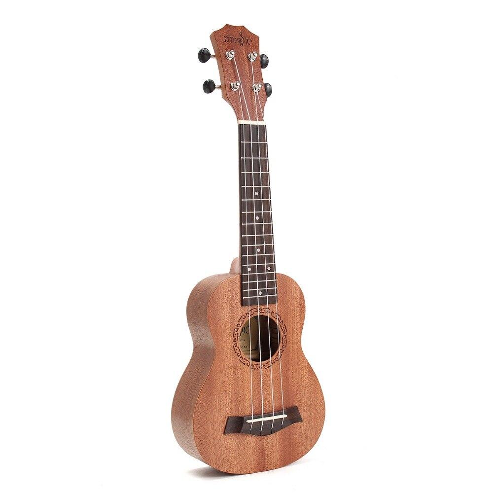 high quality 21inch ukulele hawaii mini guitar 4 strings uke brown rosewood music instrument. Black Bedroom Furniture Sets. Home Design Ideas