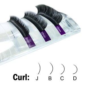 Image 3 - Nagaraku falso vison cílios maquiagem 20 casos/lote individual cílios premium vison alta qualidade macio natural cílios postiços