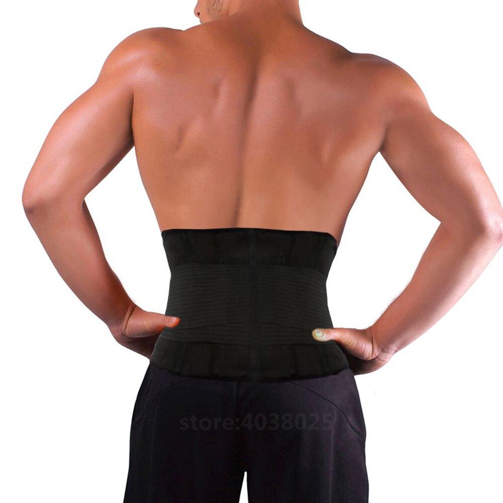 Neoprene Sports Waist Black Belts Posture Corrector Bandage Corset Orthopedic Brace Spine Back Lumbar Support Belt for Man Woman