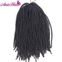 Amir 50 Strands Piece Crotchet Braids Ombre Braiding Hair Spring Curl Crochet Braids Hair Extensions Small