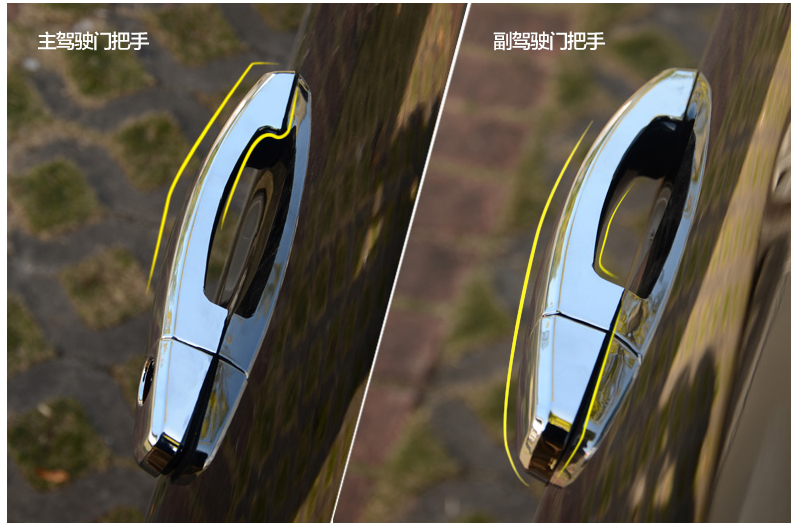 For Opel Zafira Tourer C 2011 2017 Chrome Door Handle Covers Trim