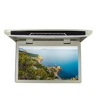 14 Inches LED Digital Monitor Car Roof Mounted Monitor Touch Screen 1600 3 RGB 900 Flip