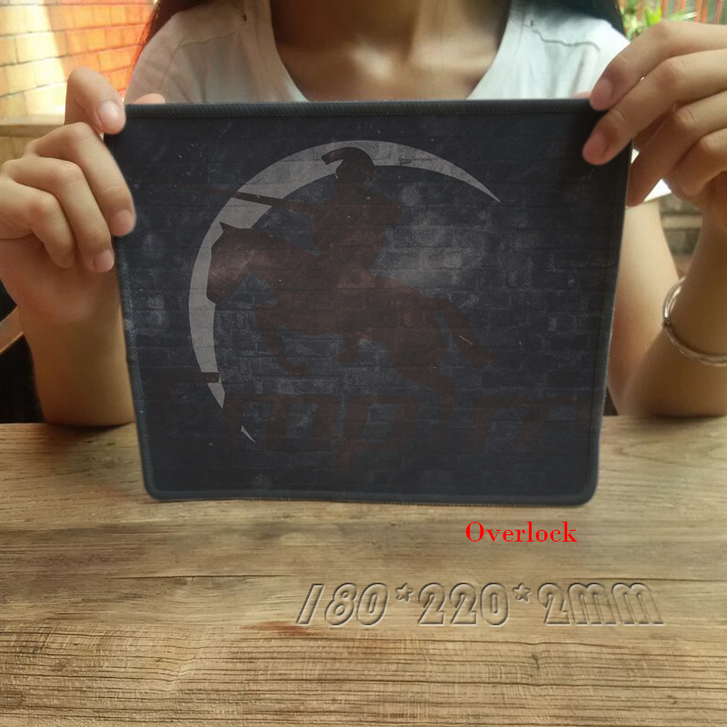 New Arrival Team Empire Print Anti-Slip PC Laptop Computer Mousepad Stiched Edge Rubber Mousemat Gaming Mice Mat Drop Shipping