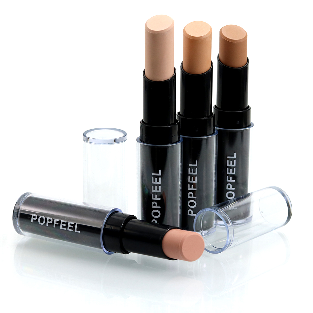 Popfeel Concealer Cream Pen Cosmetic Beauty Makeup High Liquid Concealers Primer Hide Spots Blemish Cover Pencil Stick TSLM2