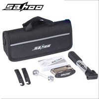 SAHOO Bicycle Pump Mountain Road Bike Air Pump Biycle Tire Repair Kit CO2 Mini Downhill MTB