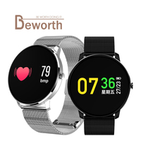 CF007s IPS Colorful Smart Band Fitness Bracelet Tracker Heart Rate Blood Pressure Monitor Watch Wristband Sports Track