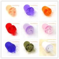 18 Colors 100 Nylon 6 X 100 Yards White ColorTulle Rolls Spool For Wedding Party Home