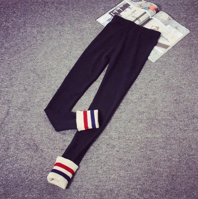 Pantalon Calzas Mujer; повседневные леггинсы на весну-осень; узкие брюки; тонкие обтягивающие штаны; хлопковые черные леггинсы для женщин - Цвет: Black
