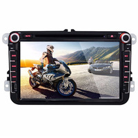 8 Inch LCD Screen Car DVD Player 1080P Full HD Digital Built In Bluetooth Hand Free