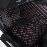 Auto car floor Foot mat For pajero sport 4 grandis lancer outlander xl 2017 2013 car accessories waterproof carpet