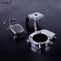 FVITEU 32cc chrome engine fan cover set for 1/5 HPI baja 5b ss 5t 5sc rovan king motor