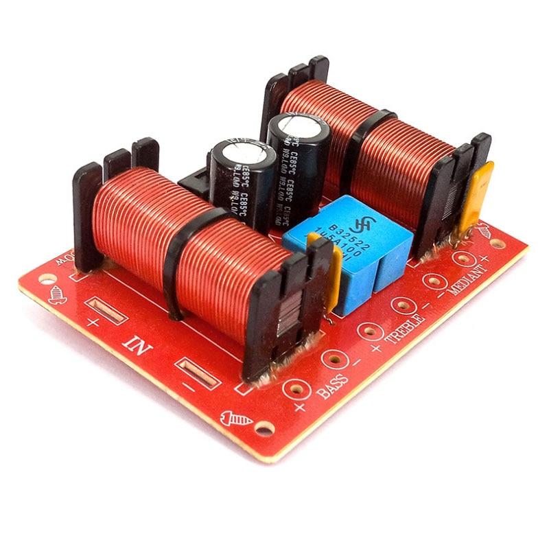DIY Audio Speakers Treble Mediant Bass 3 Way Frequency Dividers Speaker Crossover Dividers