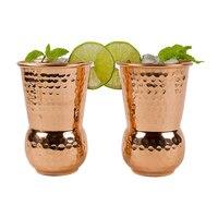 Rose Gold Moscow Mule Mug Bar Cocktail Vodka Mug Barware Mirror Polish Wine Cups India Water Mugs Cold Drinking Cup Tableware