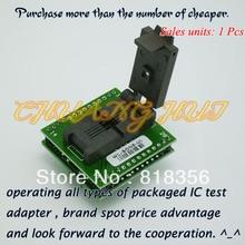 Adaptador WL-SON8-U1 para Wellon Programador Adaptador WSON8/QFN8/DFN85x6 Adaptador IC Test Socket/IC Socket