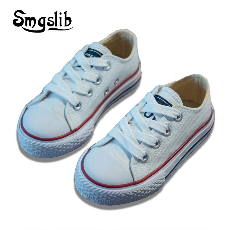 kids canvas shoes 2018 spring autumn toddler shoes children classic candy color sport shoes baby boys girls sneakers trainers