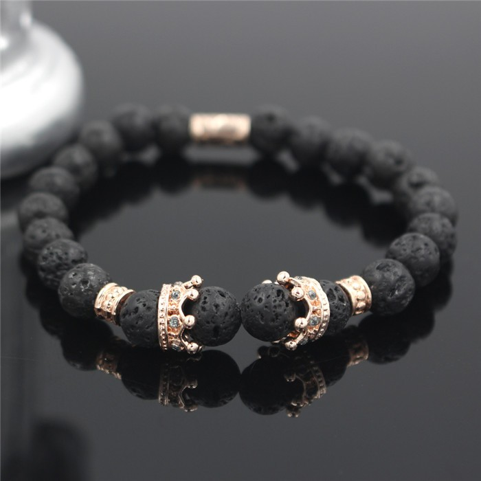 rose-gold-imperial-crown-with-natural-lava-stone-black-bracelet-1
