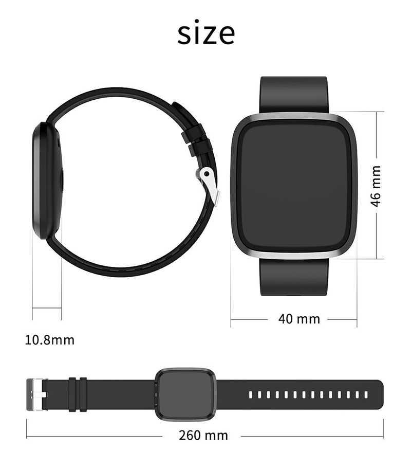 Водонепроницаемые спортивные Смарт-часы для мужчин и женщин кислородный монитор сердечного ритма кровяное давление фитнес-трекер gps Smartwatch для Android Ios