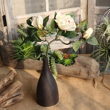 1 Pc Simulation Artificial Flower for Wedding Party and Home Dec Gardenia Plant Jasmine Indoor Plants